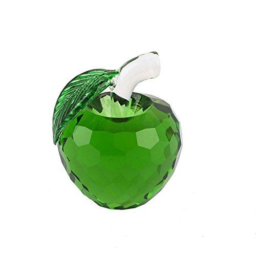 Generic Pretty Crafts Art Kristall Apple Tisch Ornaments DIY Briefbeschwerer Hochzeit Decor, gelb, 6  5  5cm B07C7LR935 | Wirtschaft