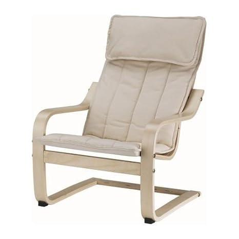 IKEA cbkoa-dondolo \'Poäng\' sedia poltrona per bambini - bambino ...