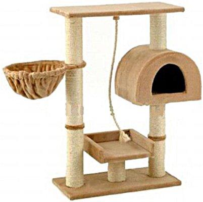 Go Pet Club Small Cat Tree Furniture Beige, My Pet Supplies