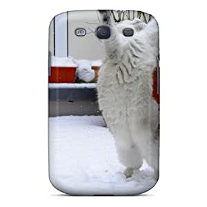 Fashionable Style Case Cover Skin For Galaxy S3- Snow Dancer