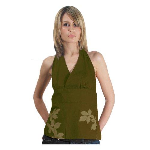 Addict - Camiseta - para mujer verde oliva
