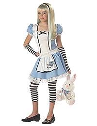 California Costumes Girls Tween Alice Costume, Blue/White, X-Large
