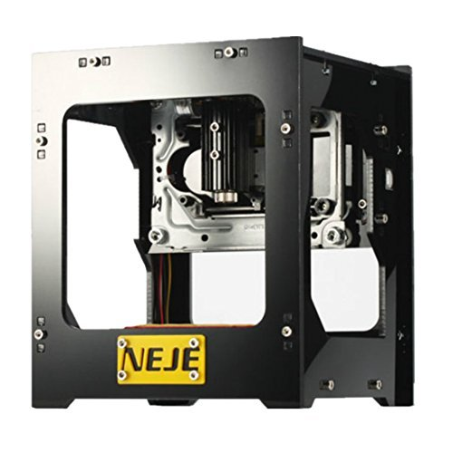1000mW DIY USB Laser Engraver Carver NEJE DK-8-KZ 38 x 38mm Automatic DIY Print Engraving Carving Machine Off-line Operation with Protective Glasses f