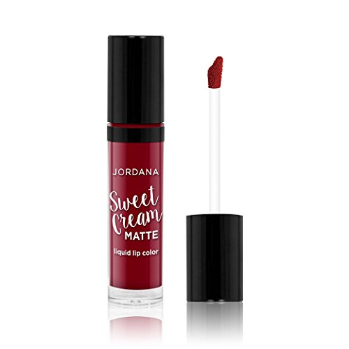 Jordana Sweet Cream Matte Liquid Lip Color 11 Red Velvet Cake