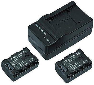 bn-vg114ac bn-vg114e Recambio batería cargador de carga rápida para jvc everio bn-vg114