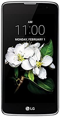 LG K7 MS330 GSM Unlocked 8GB Android Smartphone Metallic Silver (Certified Refurbished) - (Will NOT work for Metro PCS)
