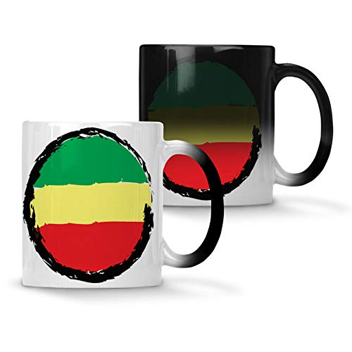 - jamaican flag Colour changing 11oz Mug u519w
