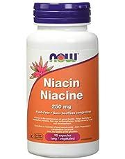 Now Flush-free Niacin, 250mg, 90 Veg Capsules