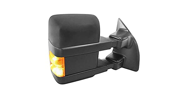 Value Passenger Side Power Towing Mirror OE Quality Replacement Heated, Foldaway