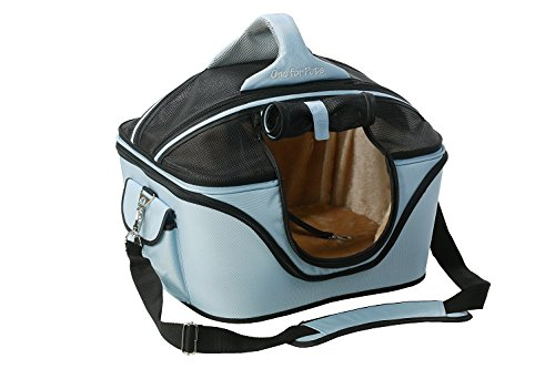 One for Pets The Cozy Pet Carrier, Large, Powder bluee