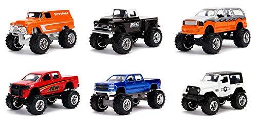 New DIECAST Toys CAR JADA 1:64 Metals - JUST Trucks Wave 21 Assortment Set of 6 14020-W21