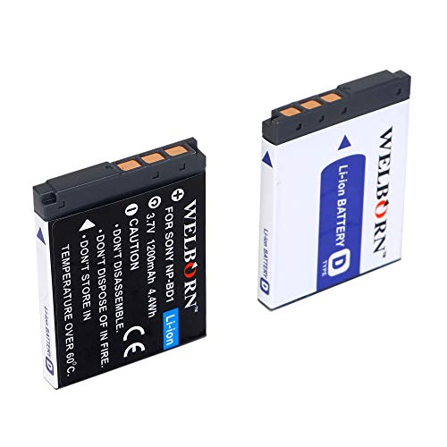 WELBORN NP BD1 Battery for Sony Cameras 1200mAh