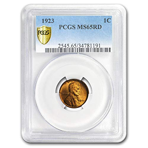 1923 Lincoln Cent MS-65 PCGS (Red) Copper MS-65 PCGS