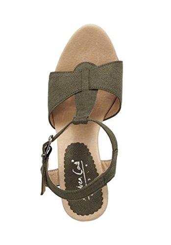Best Connections Sandalette - Sandalias de vestir para mujer verde - oliva