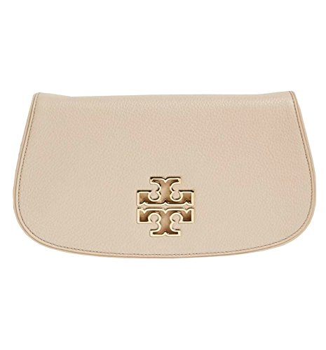 Leather Tory Women's Chain Burch Britten 39055 Light Oak handbag Clutch Crossbody UUwqC5r