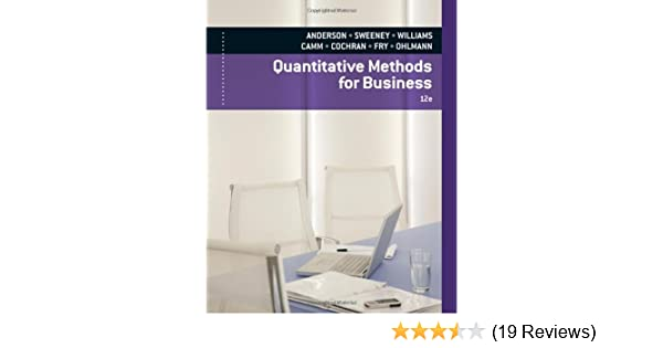 Quantitative methods for business with printed access card david quantitative methods for business with printed access card david r anderson dennis j sweeney thomas a williams jeffrey d camm james j cochran fandeluxe Gallery