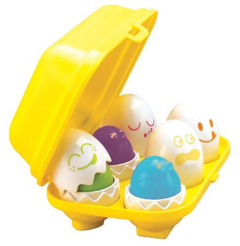 Tomy Play to Learn Hide n Squeak Eggs by Tomy
