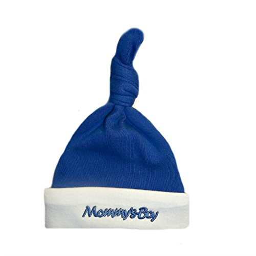 Mommy's Boy Knotted Hat, Preemie ()