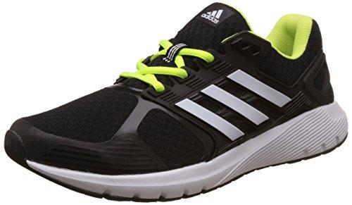 adidas Duramo 8 K, Zapatillas Unisex Niños Negro (Core Black/ftwr White/solar Yellow)