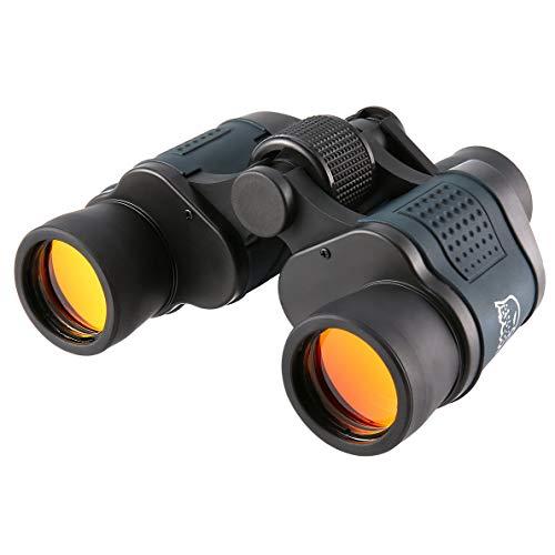 uqiangbao 60x60 16000M HD Professional Hunting Binoculars Telescope Night Vision for Hiking Travel Field Work Forestry Fire (Best Binoculars For Huntings)