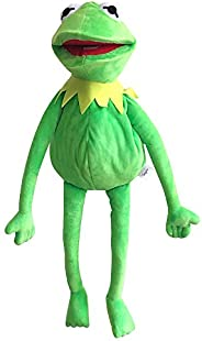 TQWER Kermit Frog Puppet, The Muppets Show, Soft Hand Frog Stuffed Plush Toy, Gift Ideas for Boys and Grils- 2