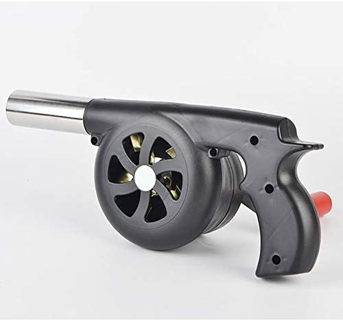 Acc+ BBQღ Souffleur Manuel Portable Ventilateur à manivelle souffleur de Barbecue Outil sèche-Cheveux Accessoires Four