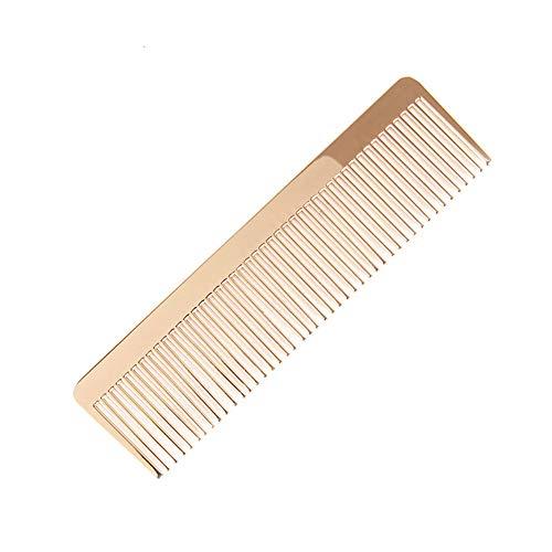 GYYlucky Nordic Style Golden Comb Minimalist Design Metal Comb Ins Retro (color : Gold)
