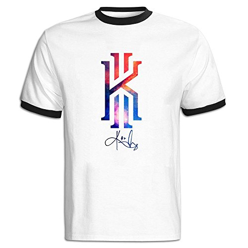 Price comparison product image Custom Men's Two-toned Particular Kyrie CAVS Irving Tee Black Size L