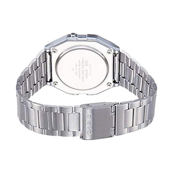 Casio A158 Montre Bracelet en Acier Inoxydable