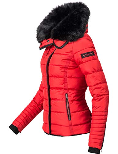 Chaqueta Mujer xl De Laureen Rojo Invierno Colores 5 Para Guateada Marikoo Xs 65qFYCw