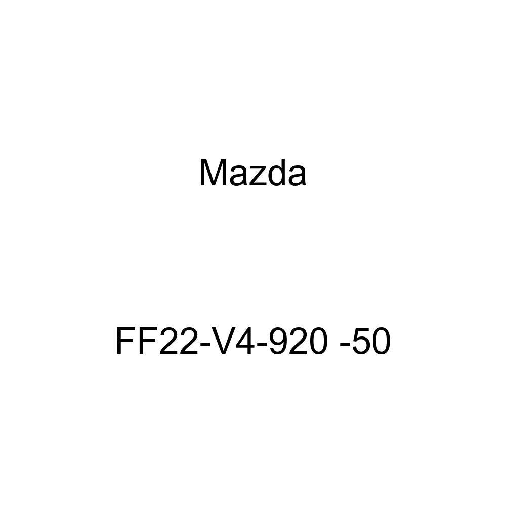 Mazda Genuine Accessories FF22-V4-920 50 Rear Spoiler Wing
