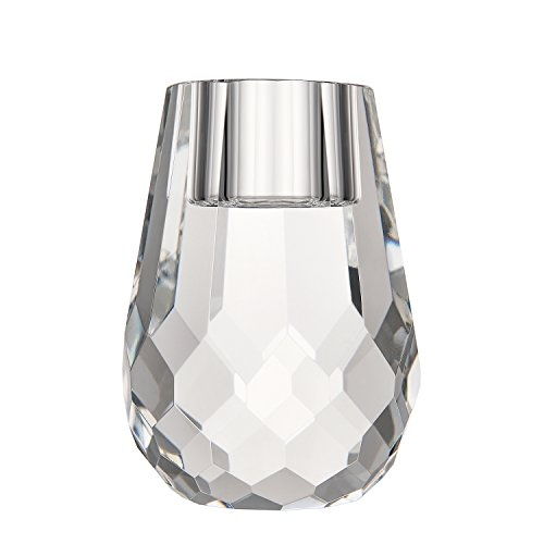 Donoucls Candle Holders Manual Cut Crystal 6x8cm/2.4x3.2