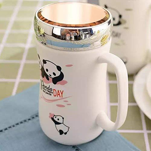 Satyam Kraft (Pack of 1) Panda Ceramic Coffee Mug with Lid with for Diwali Gift,Christmas Gift, Coffee Mug Ceramic Mug Valentine Gift Mug (1 Pcs Random Design) Price & Reviews