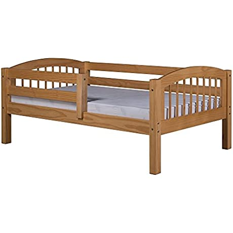 Camaflexi Arch Spindle Style Solid Wood Day Bed Twin Natural