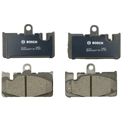Bosch BC871 QuietCast Premium Ceramic Disc Brake Pad Set For 2001-2006 Lexus LS430; Rear: Automotive