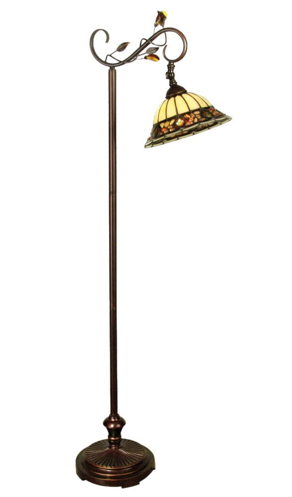 Dale Tiffany TF90219 Crystal Jewel Pebble Stone Floor Lamp, 60\