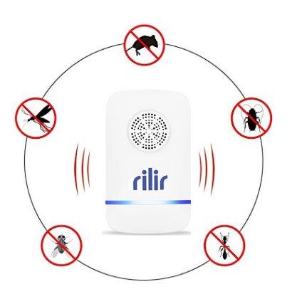 Ultrasónico Pest repeller-electronic Control de plagas enchufe en para repellent-repels de insectos mosquitos, arañas, insectos, las cucarachas, ratones, ...