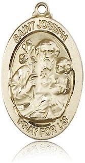 14ktゴールドセント・ジョセフメダル