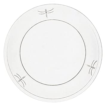 Amazon.com | La Rochere Set Of 6 9.5-inch Dragonfly Dinner Plates Accent Plates  sc 1 st  Amazon.com : dragonfly dinnerware - pezcame.com