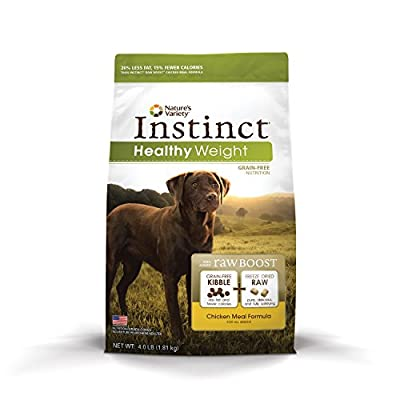 Nature's Variety Instinct Raw Boost Grain-Free Dry Dog Food