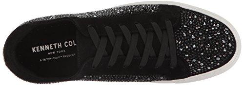 Kenneth Cole New York Vrouwen Swarovski Kristal Bezaaid Techni-cole 37,5 Voering Sneaker Zwart