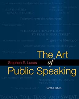 The Art Of Public Speaking Communication Standalone Book Stephen