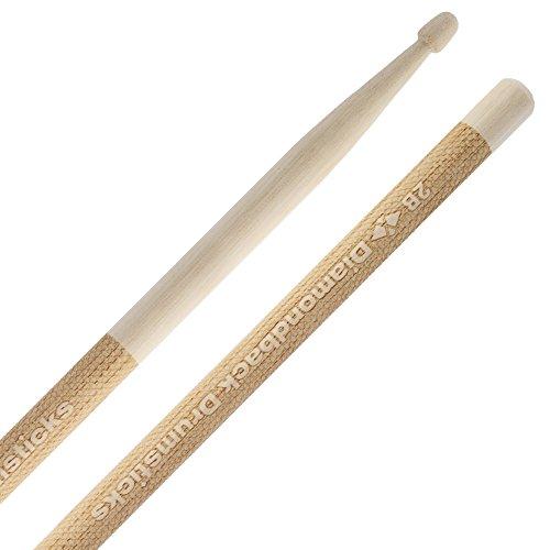 Diamondback DB1002B Laser Engraved Drumsticks Wood Tip (2B) 1 Pair ()
