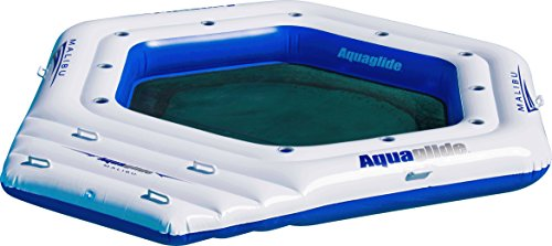 Aquaglide Malibu Island Water Lounge, White