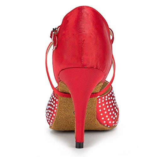 Miyoopark - salón mujer Red-8.5cm Heel
