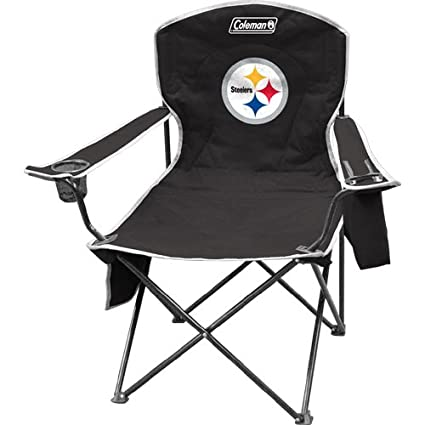 Image Unavailable  sc 1 th 225 & Amazon.com : Coleman Pittsburgh Steelers NFL Cooler Quad Tailgate ...