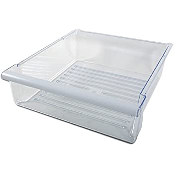 refrigerator pan. whirlpool wp2309517 refrigerator snack pan drawer r