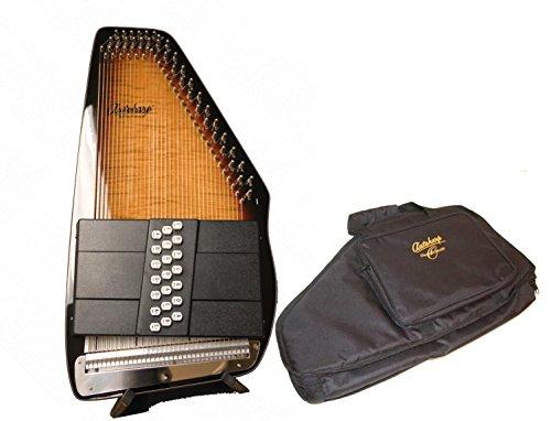 Oscar Schmidt 21 Chord Electric Autoharp w/ Gig Bag, Pass...