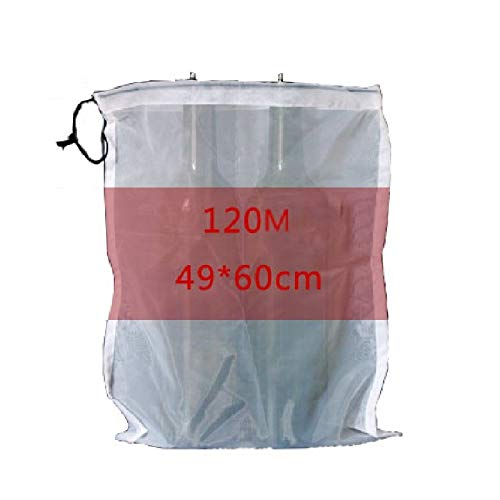 Wine Filter Bag Food Grade 120/200/300 Mesh Bag for Home Brewing Wine Making : 120Mmedium 20pcs