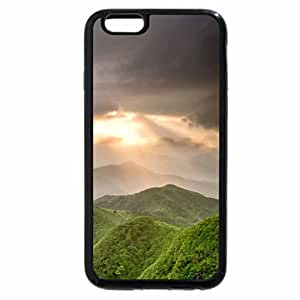 iPhone 6S Plus Case, iPhone 6 Plus Case, forest hills in morning mist